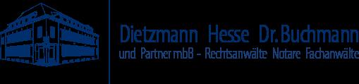 Logo Dietzmann Hesse Dr. Buchmann und Partner mbB